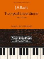 J.S. Bach: Two-Part Inventions BWV 772-786 Sheet Music