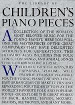 The Library Of Children's Piano Pieces Sheet Music