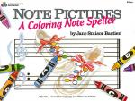 Note Pictures: A Coloring Note Speller Sheet Music