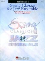 Swing Classics for Jazz Ensemble - Tenor Sax 1 Sheet Music
