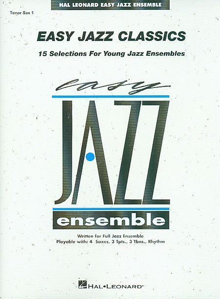 Easy Jazz Classics - Tenor Sax 1 Sheet Music