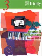 Trinity College London: Solo Piano Grade 3 (2001-2005) Sheet Music