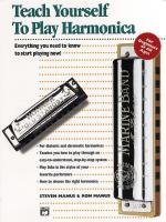 Teach Yourself To Play Harmonica Sheet Music