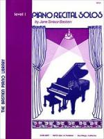 Piano Recital Solos - Level 1 Sheet Music