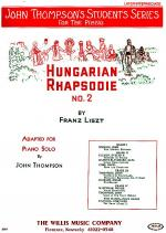 Hungarian Rhapsodie No. 2 Sheet Music