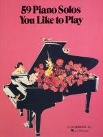 59 Piano Solos You Like To Play Sheet Music