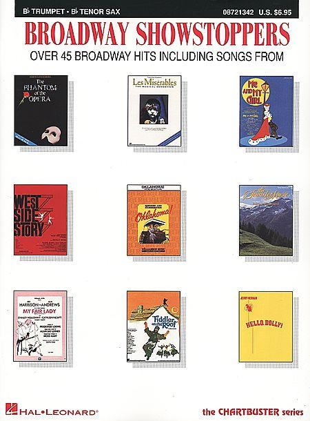 Broadway Showstoppers - Bb Trumpet/Bb Tenor Sax Sheet Music