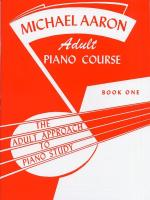 Michael Aaron Adult Piano Course: Book 1 Sheet Music