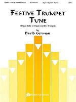 Festive Trumpet Tune - Organ Solo Or Organ/Bb Trumpet Sheet Music