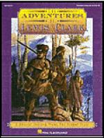 The Adventures of Lewis & Clark (Musical) Sheet Music