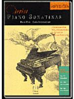 Piano Sonatinas - Book One Sheet Music