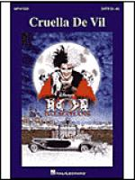 Cruella De Vil Sheet Music
