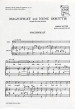 Magnificat And Nunc Dimittis (Fourth Evening Service) Sheet Music