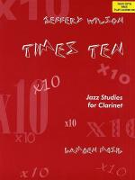 Times Ten Jazz Studies For Clarinet Sheet Music