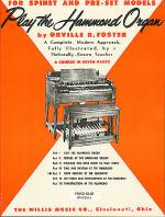 Play the Hammond Organ - Part 5 Sheet Music