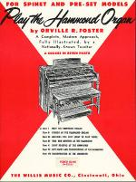 Play the Hammond Organ - Part 1 Sheet Music