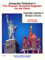 Russian Technical Regimen - Vol. 2 Sheet Music