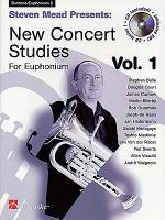 Steven Mead Presents: New Concert Studies for Euphonium - Tenor Clef Sheet Music