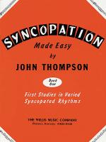 Syncopation Made Easy - Book 1 Sheet Music