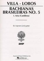 Bachianas Brasileiras No. 5 -  Aria Sheet Music