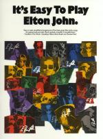 It's Easy To Play Elton John Sheet Music