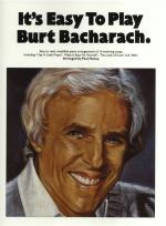 It's Easy To Play Burt Bacharach Sheet Music
