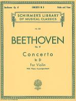 Violin Concerto in D Major, Op. 61 - Violin/Piano Sheet Music