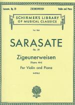 Zigeunerweisen - 'Gypsy Aire', Op. 20 - Violin/Piano Sheet Music