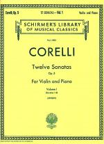 Twelve Sonatas, Op. 5 - Volume 1 Sheet Music
