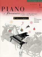 Piano Adventures Level 1 - Christmas Book Sheet Music
