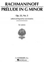 Prelude in G Minor, Op. 23, No. 5 Sheet Music