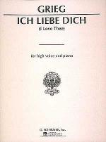 Ich Liebe Dich - I Love Thee - Medium Voice Sheet Music