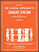 Logical Approach to Snare Drum Vol 2 Sheet Music