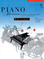Piano Adventures Level 2A - Christmas Book Sheet Music