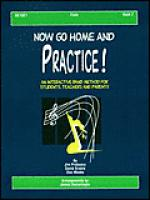 Now Go Home And Practice Book 2 Flute Sheet Music