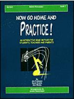 Now Go Home And Practice Book 2 Mallet Percussion Sheet Music