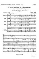 If Ye Love Me, Keep My Commandments Sheet Music