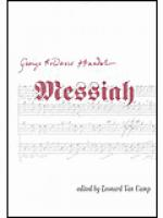 Messiah - Vocal Score Sheet Music