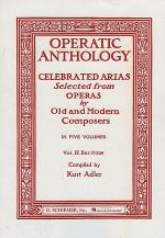 Operatic Anthology, Volume 4 - Baritone Sheet Music