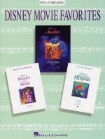 Disney Movie Favorites Instrumental Solo Piano Accompaniment Sheet Music