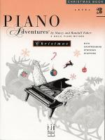 Piano Adventures Level 2B - Christmas Book Sheet Music