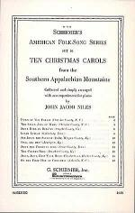 10 Christmas Carols From The Southern Appalachian Mountains Sheet Music