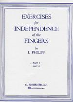 Isidor Phillip - Exercises for Independence of Fingers - Book 1 Sheet Music