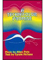 A Technicolor Promise Sheet Music