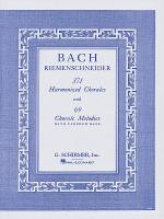 371 Harmonized Chorales And 69 Chorale Melodies W/Figured Bass Sheet Music