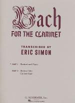 Bach For The Clarinet - Part 1 Sheet Music