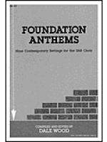 Foundation Anthems Sheet Music