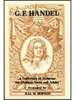 Handel Collection Sheet Music