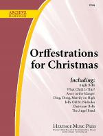 Orffestrations for Christmas, Vol. 1 Sheet Music