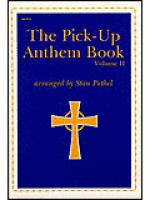 The Pick-Up Anthem Book, Vol. 2 Sheet Music